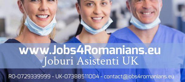 Joburi Asistenti UK www.jobs4romanians.eu